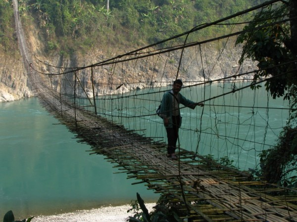 Along photos, Hanging Bridge