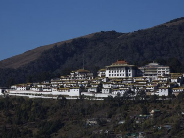 Tawang photos, Tawang Monestary - distant view of the monestary
