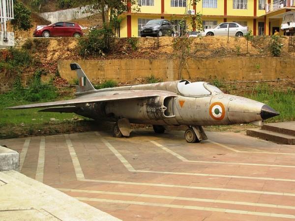 Itanagar photos, Jawaharlal Nehru Museum - Folland_Gnat
