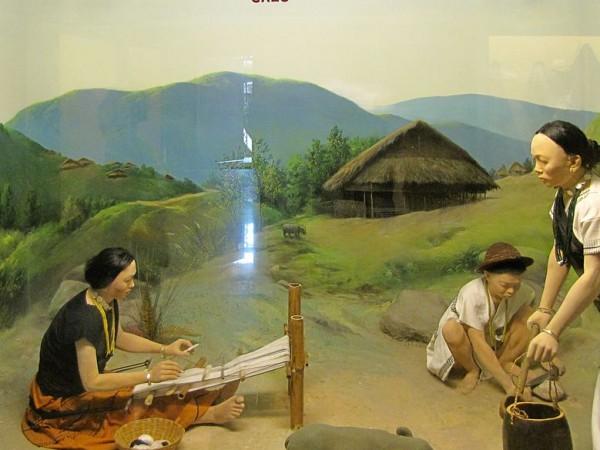 Itanagar photos, Jawaharlal Nehru Museum - Galo diorama
