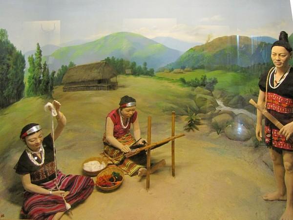 Itanagar photos, Jawaharlal Nehru Museum - Kaman diorama