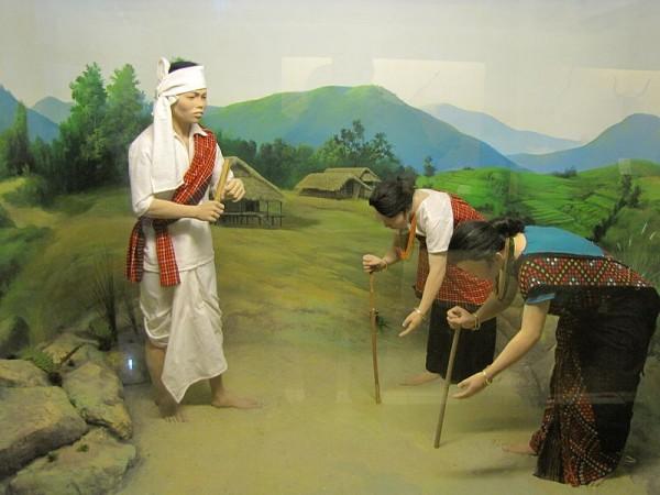 Itanagar photos, Jawaharlal Nehru Museum - Mishing diorama