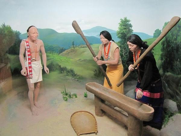 Itanagar photos, Jawaharlal Nehru Museum - Nocte diorama