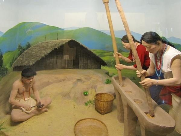 Itanagar photos, Jawaharlal Nehru Museum - Wancho diorama