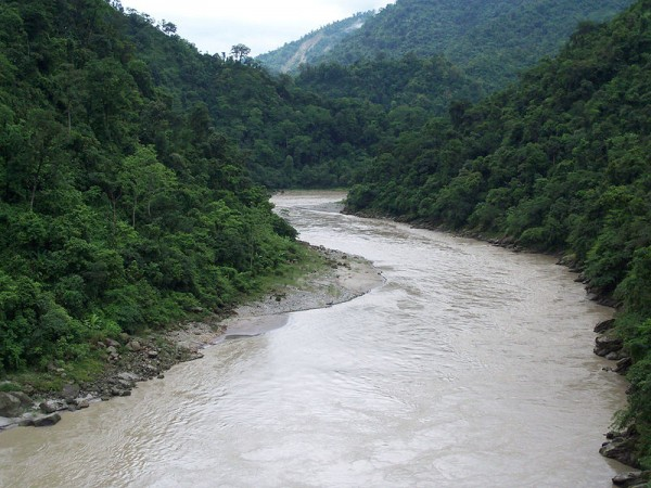 Gangtok photos, River Teesta - Teesta River