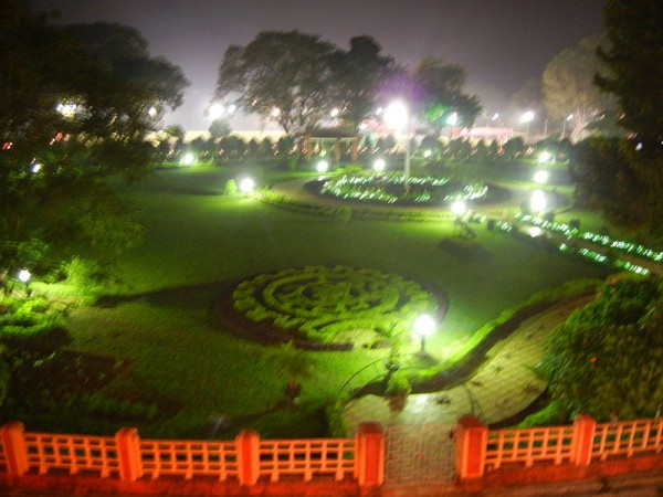 Dhanbad photos, Oval garden of Indian School of Mines