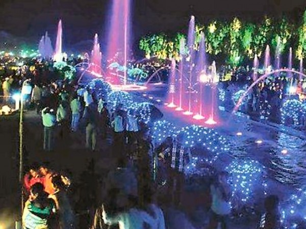 Jamshedpur photos, Jubilee Park - jubilee park at night