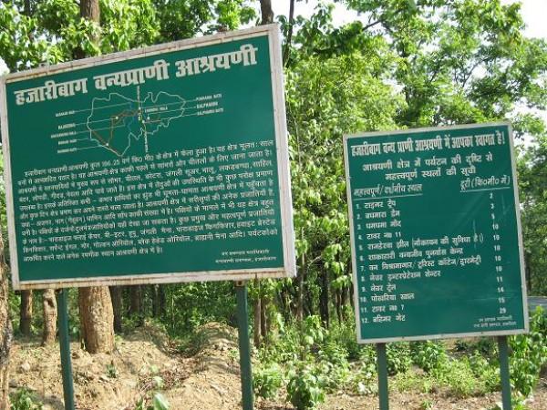 Hazaribagh photos, Hazaribagh National Park - The Entrance