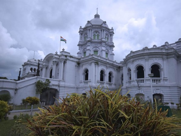 Agartala photos, Ujjayanta Palace - A dusky view