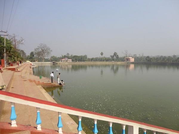 Udaipur-Tripura photos, Kalyan Sagar - A view of the Lake