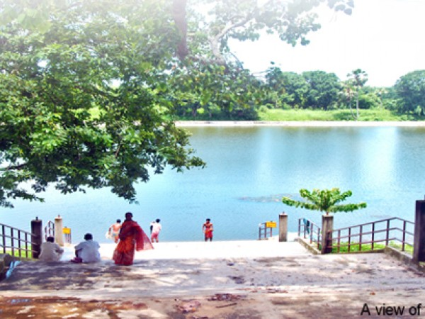 Agartala photos, Kamalasagar - A view of the lake