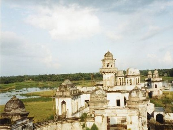 Agartala photos, Neermahal - A distant view