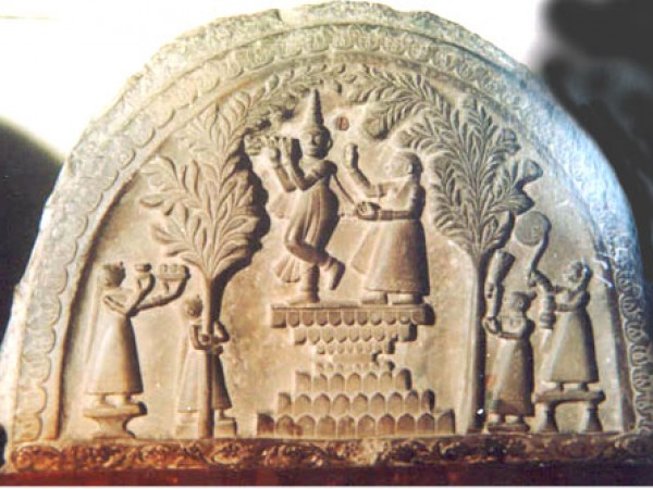 Agartala photos, Tripura State Museum - A carving of Krishna