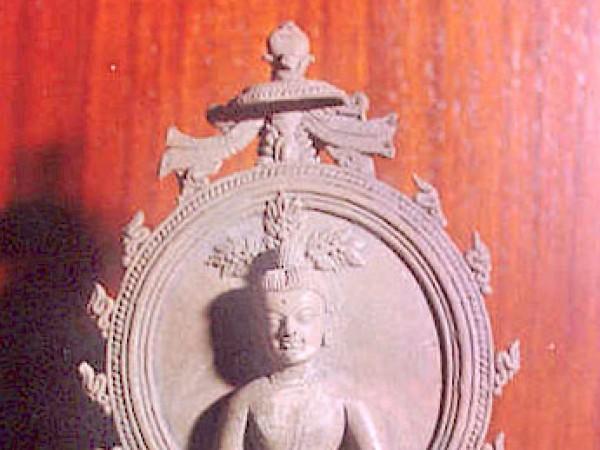 Agartala photos, Tripura State Museum - An image of Buddha