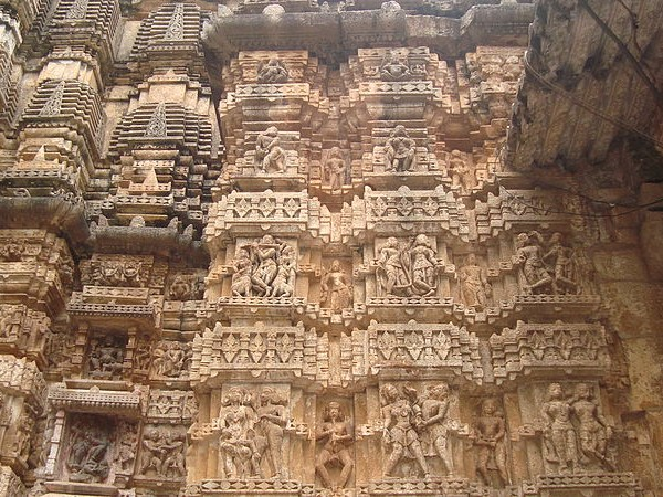 Kabirdham photos, Bhoramdeo temple - Back Wall