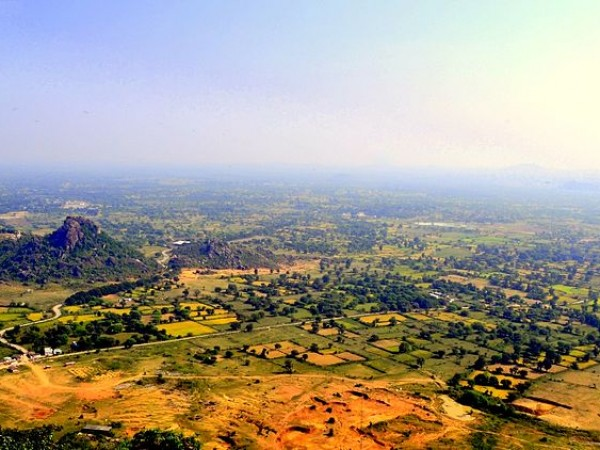Rajnandgaon photos, Dongargarh - Arieal View