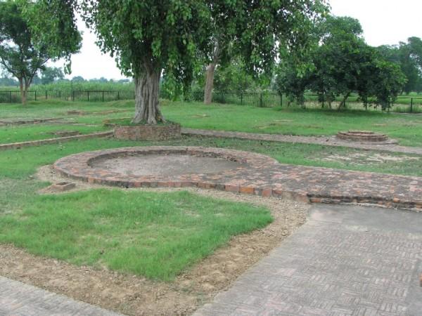 Fatehgarh Sahib photos, Sanghol - Buddhist stupa