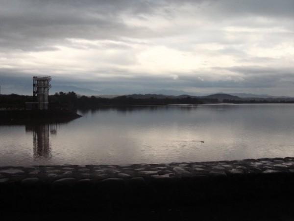 Mohali photos, Sukhna Lake - Panoramic view of lake