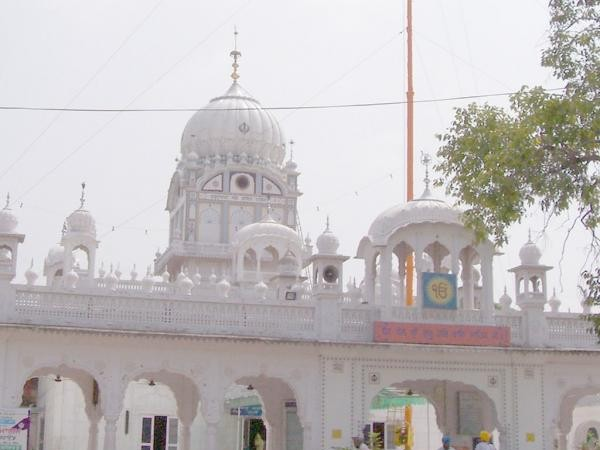 Mohali photos, Gurdwara Amb Sahib - A frontal view