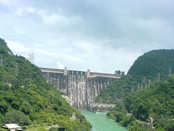 Rupnagar photos, Bhakra Dam - Mighty structure of Dam