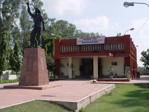 Jalandhar photos, Shaheed-E-Azam Sardar Bhagat Singh Museum - A front view