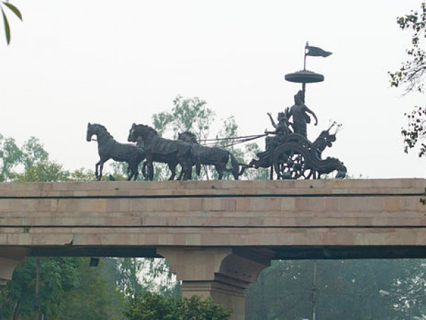 Panipat photos, View of the Scupture
