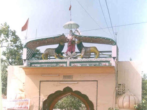 Panipat photos, Devi Temple - Frontal View
