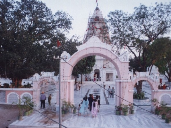 Panchkula photos, Mansa Devi Temple - Gate View