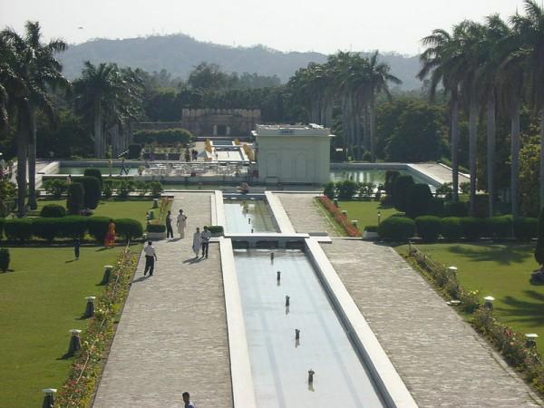 Panchkula photos, Yadavindra Garden Pinjore - Distant View