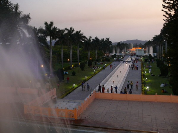 Panchkula photos, Yadavindra Garden Pinjore - Fountains
