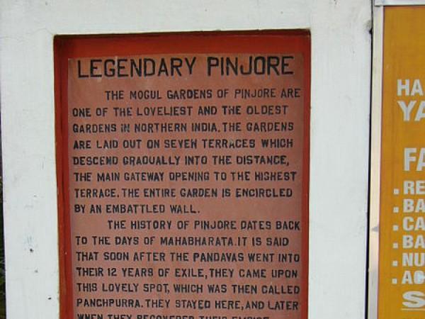 Panchkula photos, Yadavindra Garden Pinjore - Legend