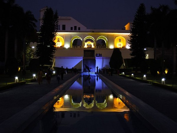 Panchkula photos, Yadavindra Garden Pinjore - Night View