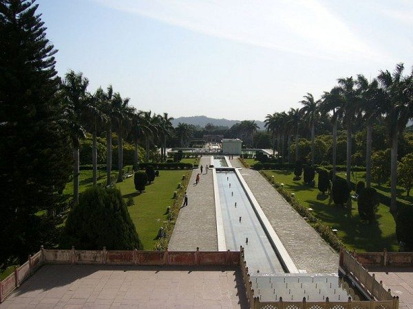 Panchkula photos, Yadavindra Garden Pinjore - Panoramic View