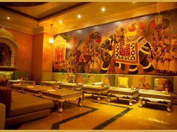 குர்கான் புகைப்படங்கள் - கனவுகளின் இராச்சியம் - நௌடன்கி மஹாலில் ராஜஸ்தானிய பாணி