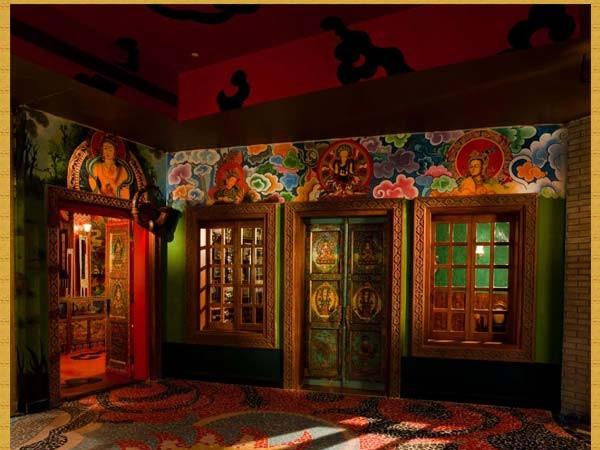 குர்கான் புகைப்படங்கள் - கனவுகளின் இராச்சியம் - புத்தரின் ஓவியங்கள்