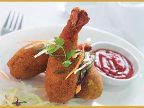 Gurgaon photos, Kingdom of Dreams - Chicken Snacks