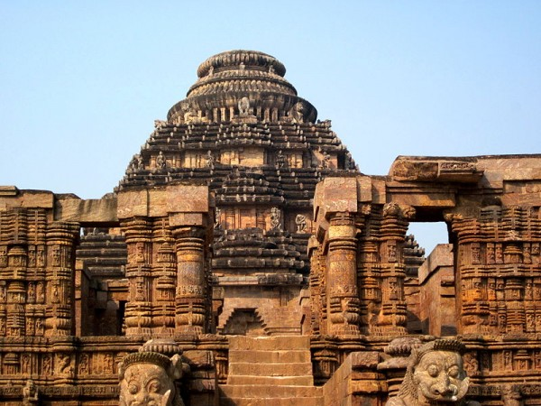 Konark photos, Sun Temple - A Front View