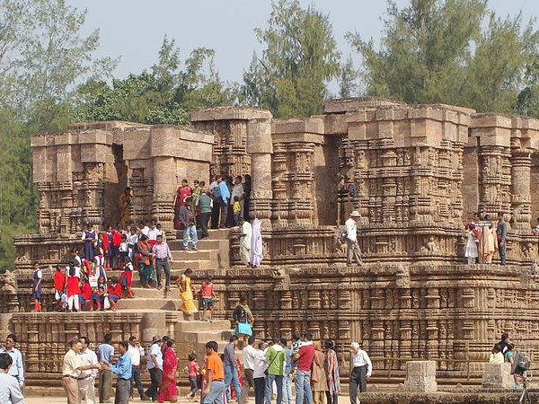 Konark photos, Sun Temple - Naata Mandir