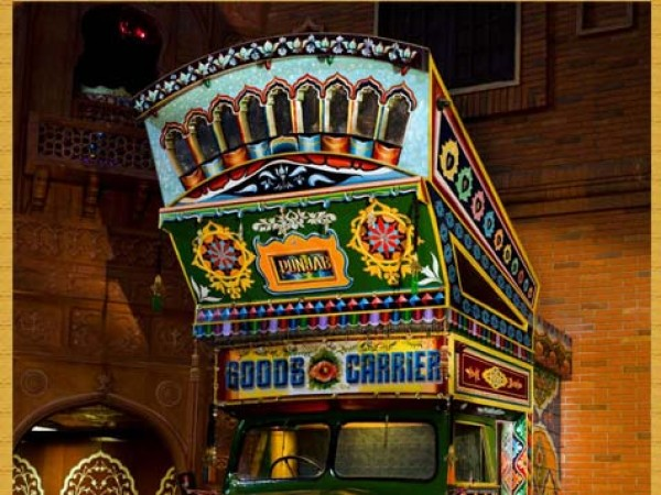 Gurgaon photos, Kingdom of Dreams - Truck
