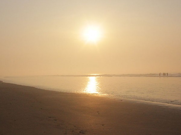 Konark photos, Chandrabhaga Sea Beach - An enticing view of sunrise