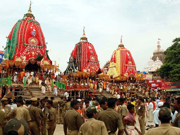 Puri photos, Jagannath Temple - Ratha Yatra the Chariot Festival