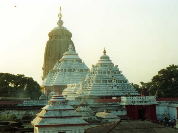 Puri photos, Jagannath Temple - A Top View