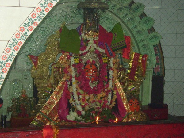 Berhampur photos, Mahuri Kalua Temple - The idol of Goddess Maa Mahuri Kalua