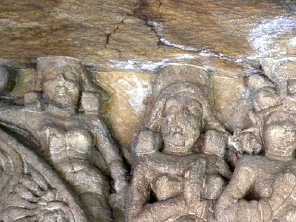 Bhubaneshwar photos, Udayagiri & Khandagiri Caves - Stone sculture
