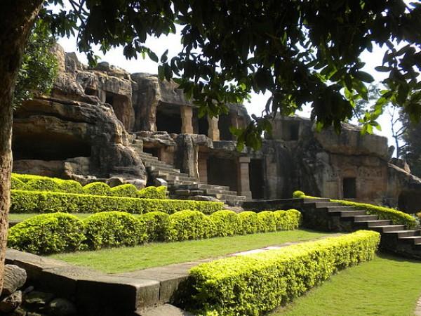 Bhubaneshwar photos, Udayagiri & Khandagiri Caves - Serene landscape