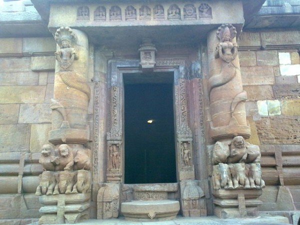 Bhubaneshwar photos, Rajarani Temple - The main gate