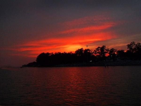 Chandipur photos, Chandipur Beach - A Beautiful Sunset