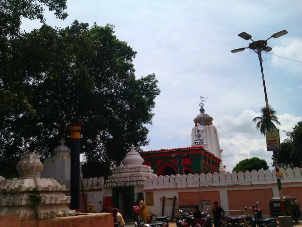 Mayurbhanj photos, Baripada - Jagannath Temple baripada Front view