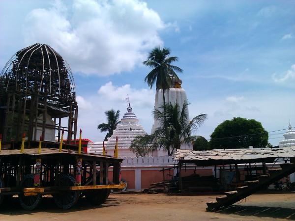 Mayurbhanj photos, Baripada - Side view