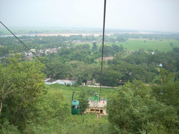 Berhampur photos, Taratarini Temple - The natural panoramic view at the hill